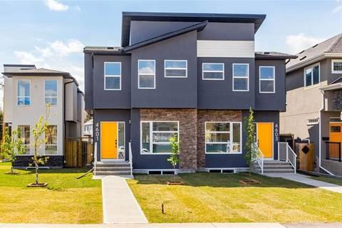 Townhouse for sale at 4601 Monterey Ave Northwest Calgary Alberta - MLS: C4244972