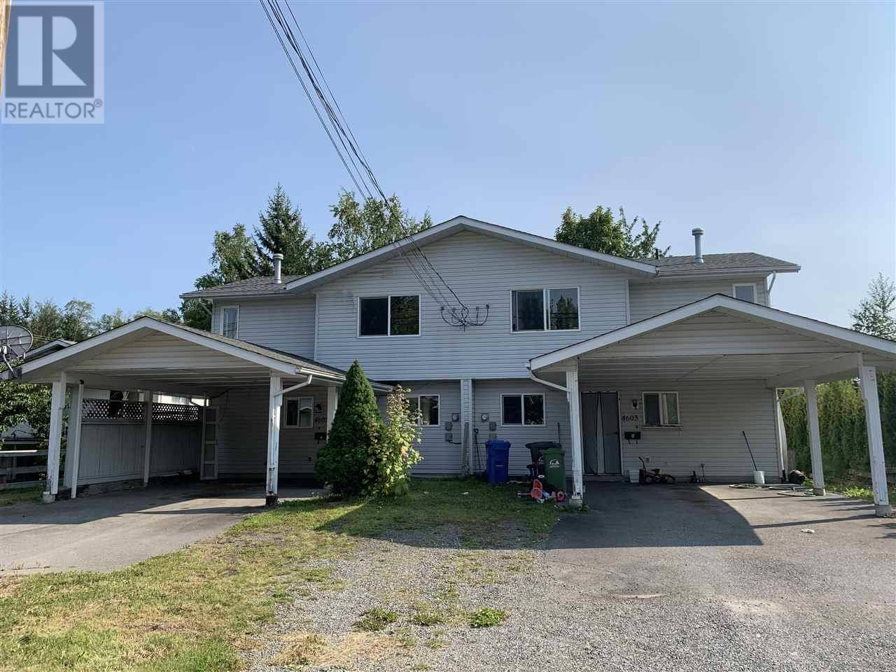 Townhouse for sale at 4603 Graham Ave Terrace British Columbia - MLS: R2395750