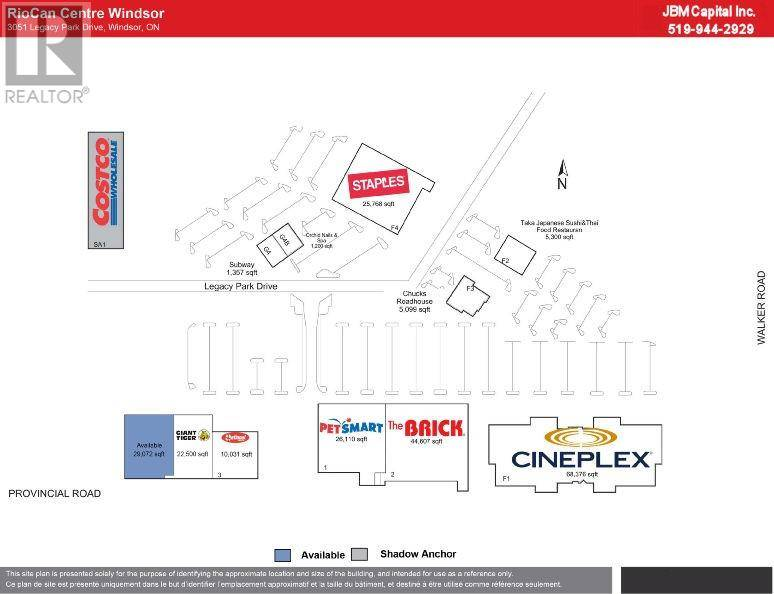 Commercial property for lease at 4611 Walker Rd Windsor Ontario - MLS: 19021830