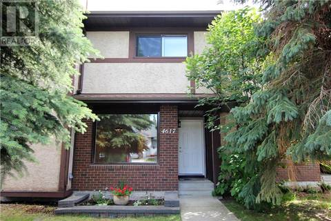 Townhouse for sale at 4617 44 St Red Deer Alberta - MLS: ca0159048