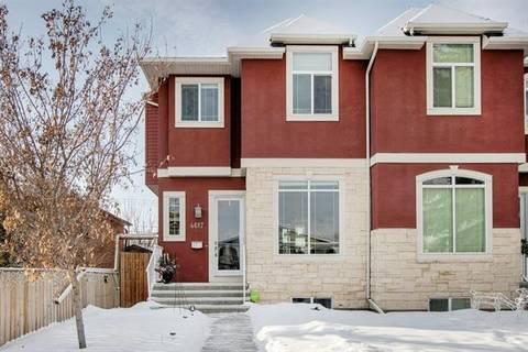 Townhouse for sale at 4617 84 St Northwest Calgary Alberta - MLS: C4281507