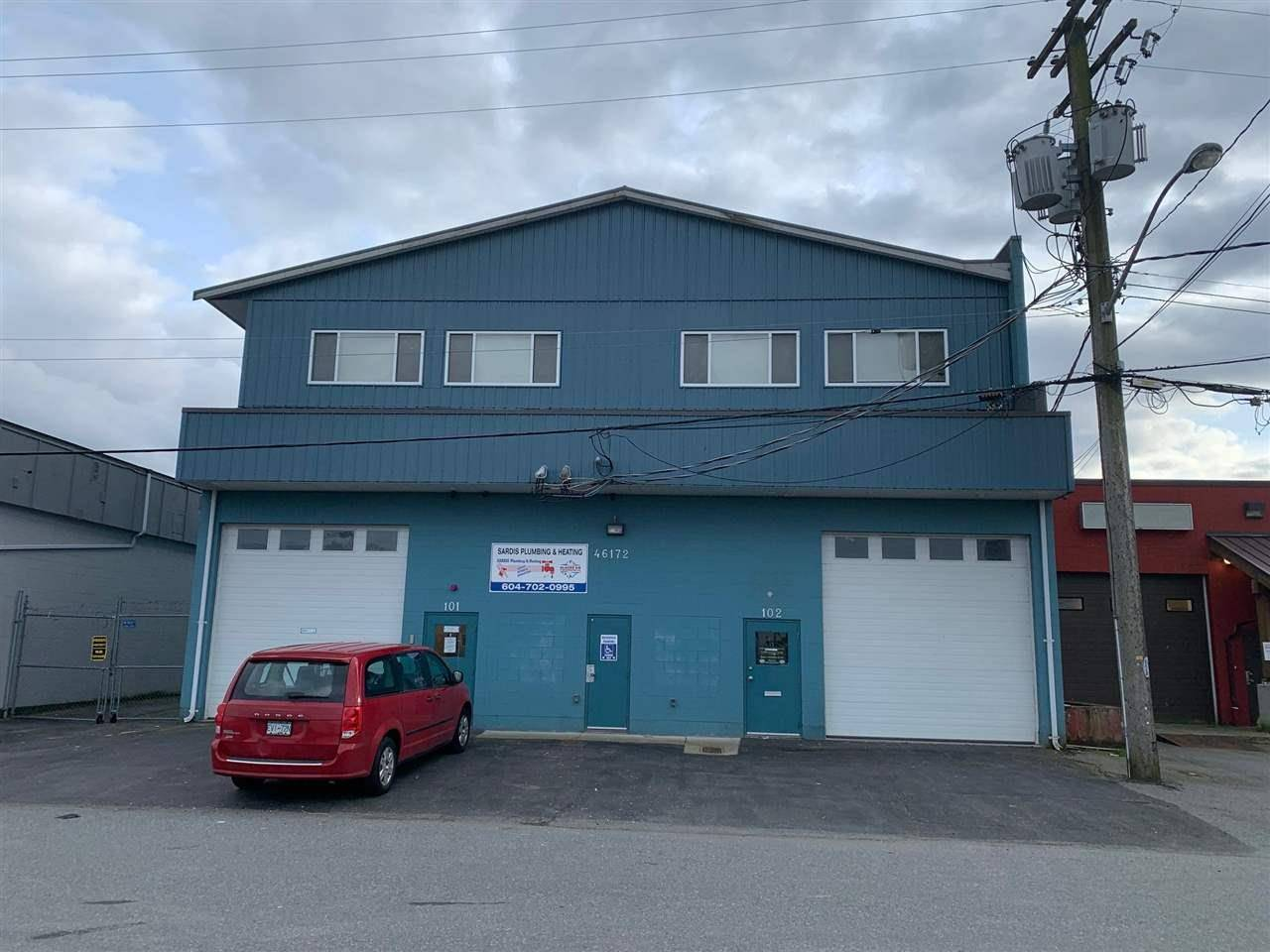 Commercial property for sale at 46172 Fifth Ave Chilliwack British Columbia - MLS: C8031336