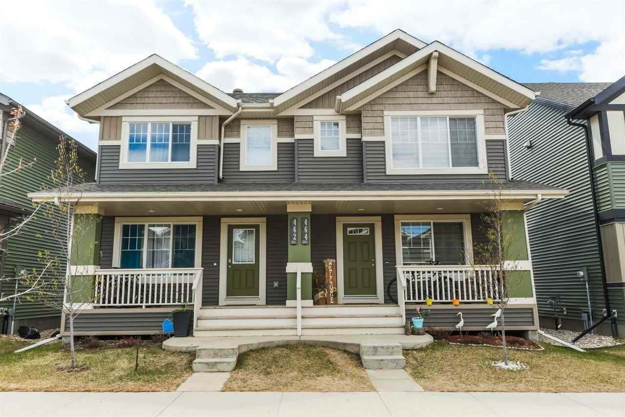 Townhouse for sale at 462 Orchards Bv SW Edmonton Alberta - MLS: E4193854