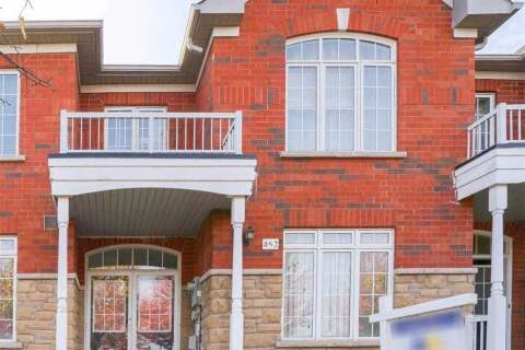 Townhouse for sale at 462 The Bridle Wk Markham Ontario - MLS: N4953848