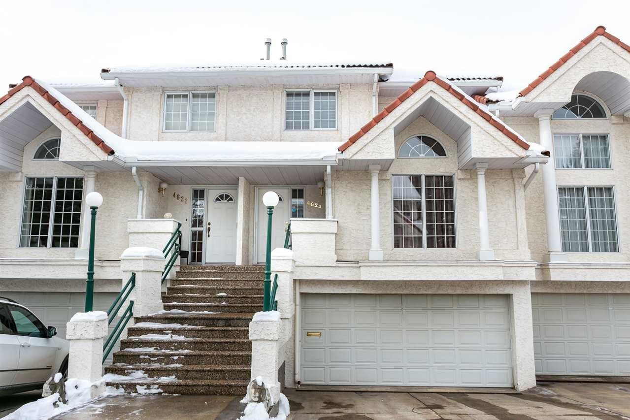 Townhouse for sale at 4624 151 St NW Edmonton Alberta - MLS: E4211665