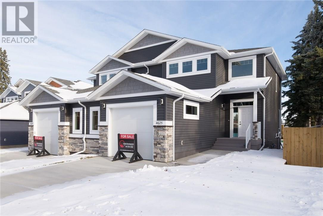 For Sale: 4625 - 48 Street , Sylvan Lake, AB | 3 Bed, 3 Bath Townhouse for $399,900. See 15 photos!