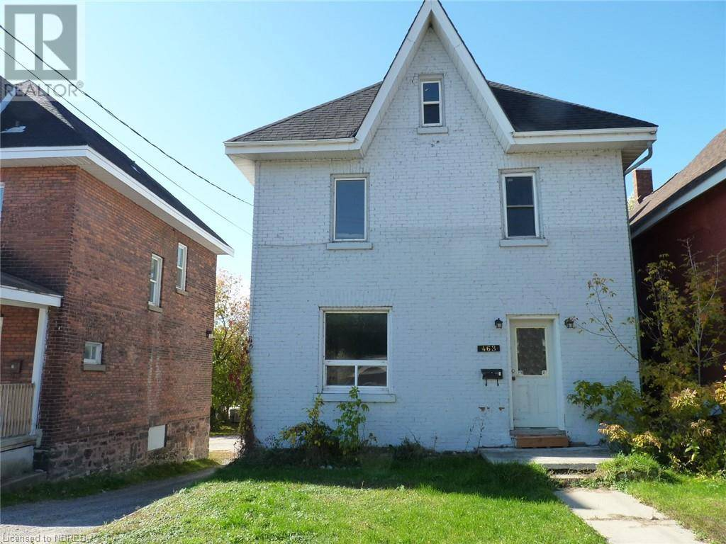 Townhouse for sale at 463 Mcintyre St East North Bay Ontario - MLS: 242543