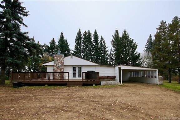 House for sale at 46306 Range Road 195  Rural Camrose County Alberta - MLS: CA0180228