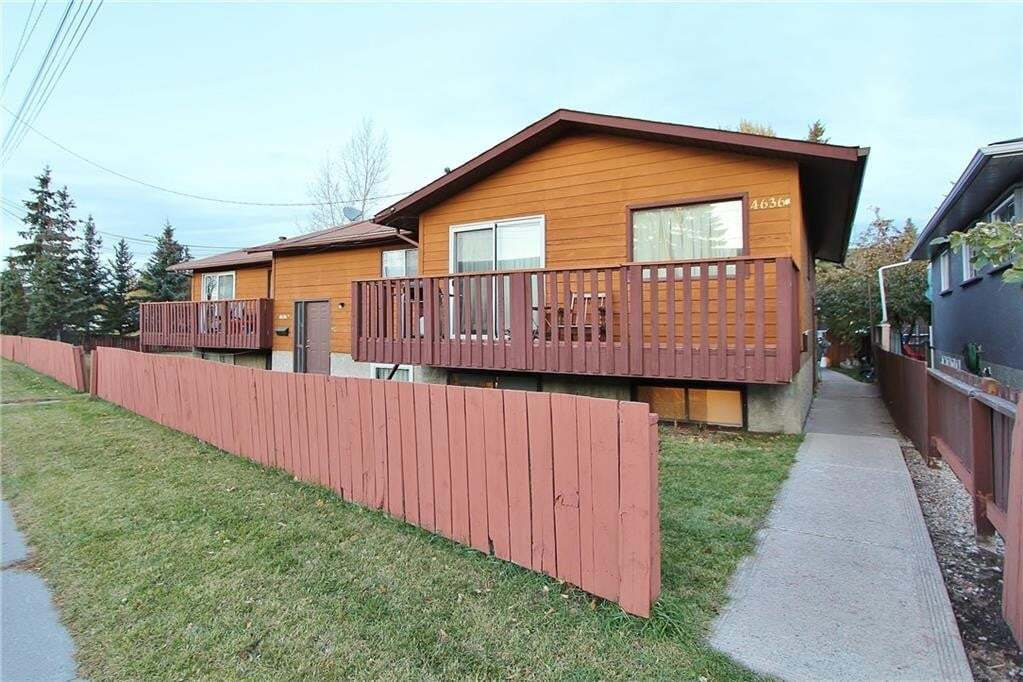 Townhouse for sale at 4636 77 St NW Bowness, Calgary Alberta - MLS: C4273254