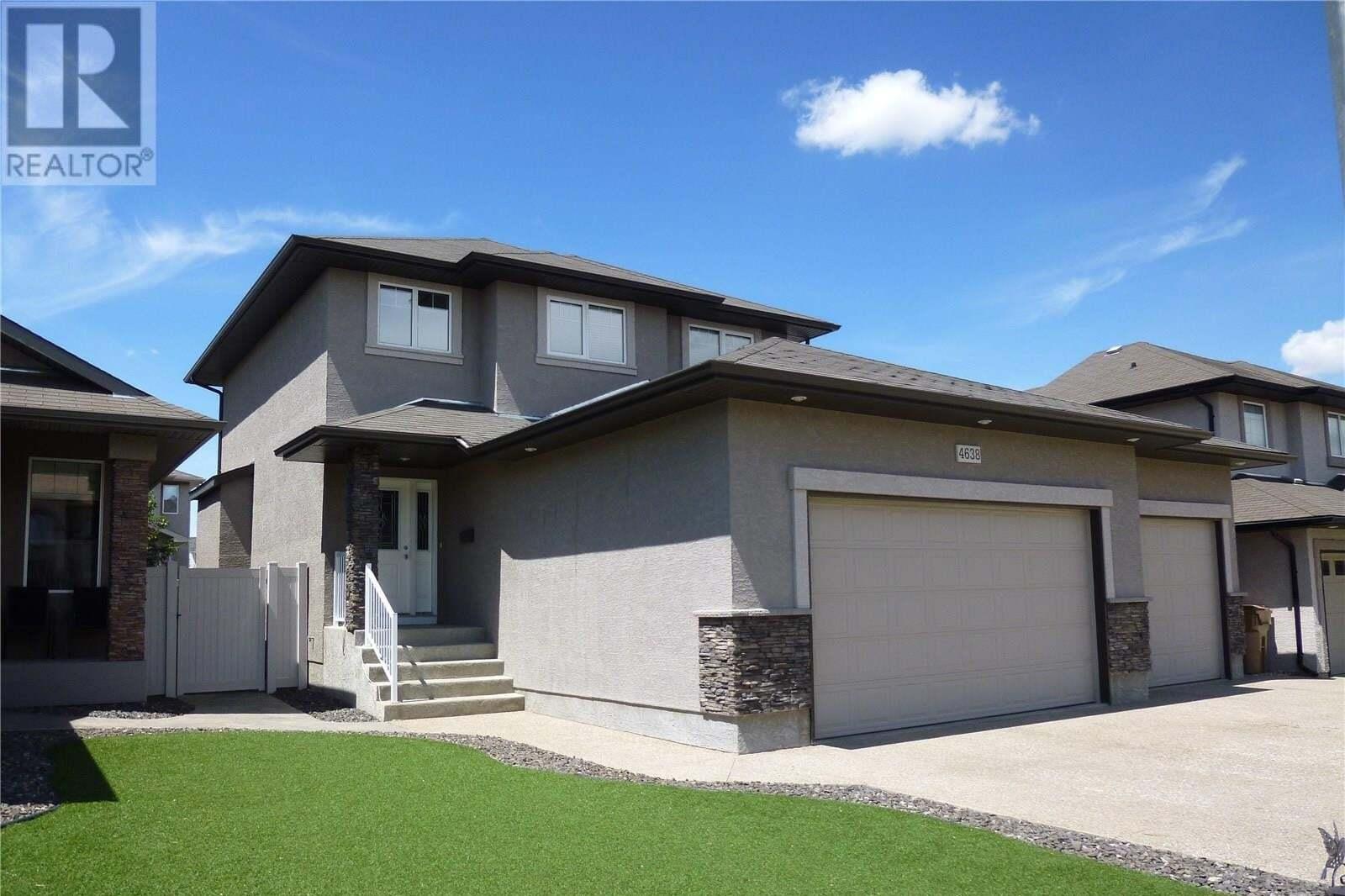House for sale at 4638 Shumiatcher Cres Regina Saskatchewan - MLS: SK814106