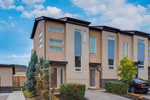Townhouse for sale at 464 Covecreek Circ Northeast Calgary Alberta - MLS: C4294554