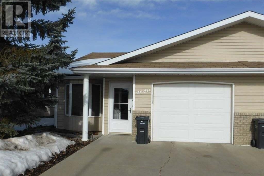 Townhouse for sale at 4640 42 Cres Red Deer Alberta - MLS: CA0189759