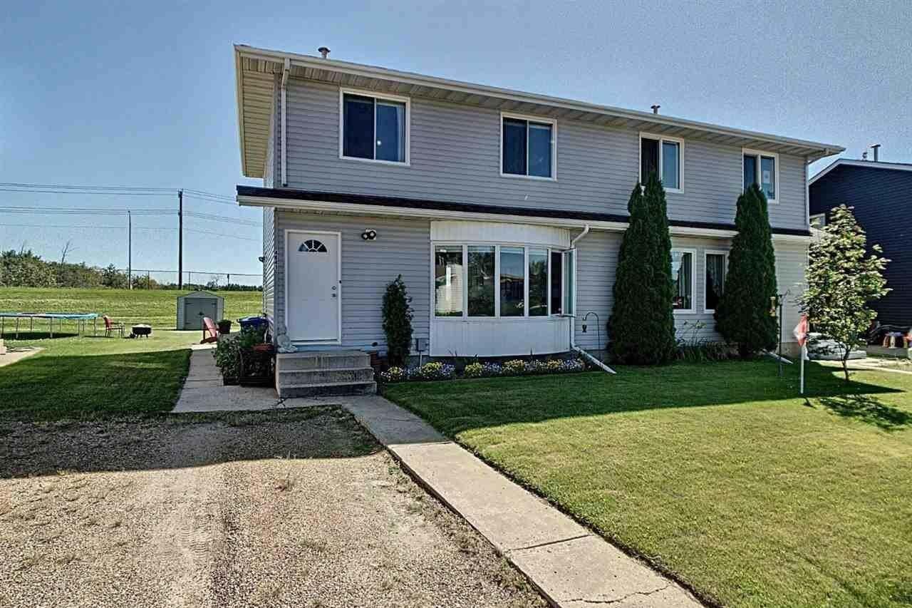 Townhouse for sale at 4641 53rd Av Bruderheim Alberta - MLS: E4207993