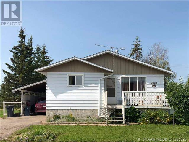 House for sale at 4644 51 St Rycroft Alberta - MLS: GP205828