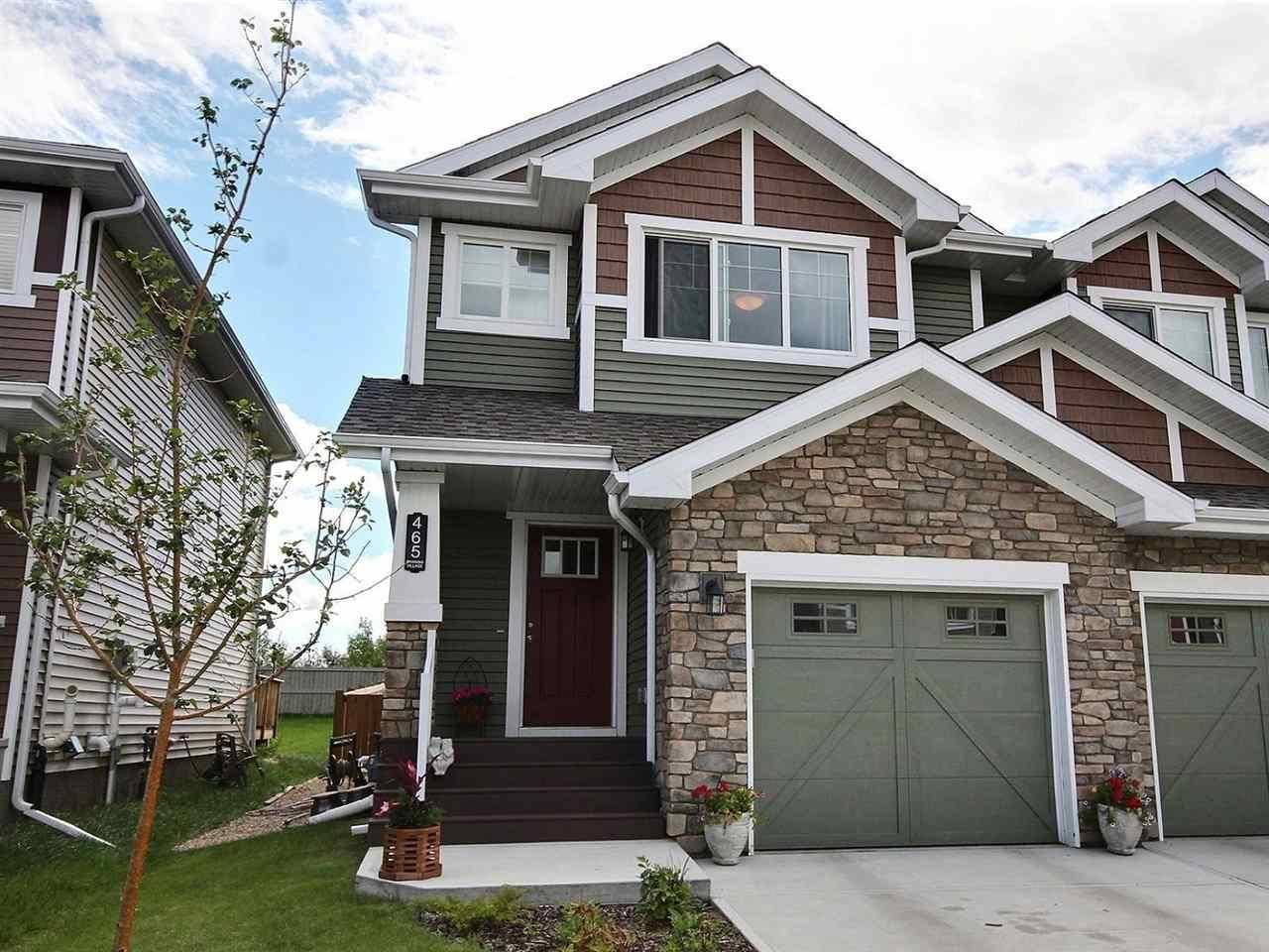 Townhouse for sale at 465 Ebbers Wy Nw Edmonton Alberta - MLS: E4192808
