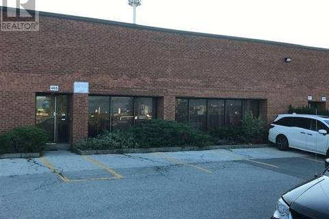 Commercial property for lease at 465 Fenmar Dr Toronto Ontario - MLS: W4662158