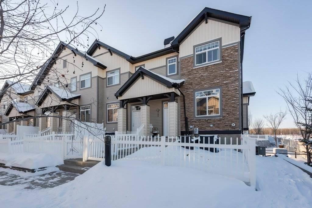 Townhouse for sale at 465 Hemingway Rd Nw Edmonton Alberta - MLS: E4184172
