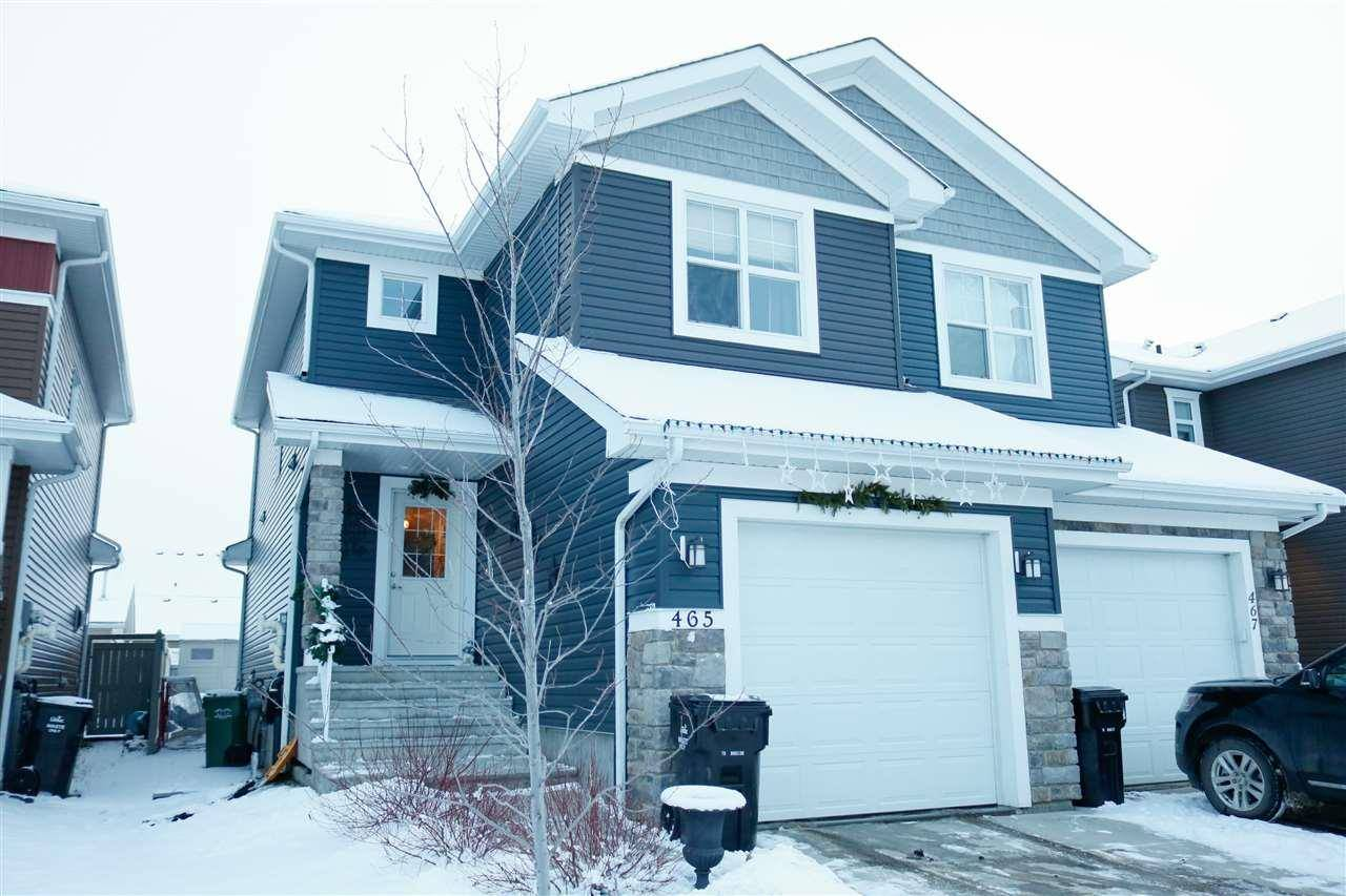 Townhouse for sale at 465 Reed Cres Leduc Alberta - MLS: E4181951