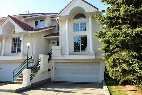 Townhouse for sale at 4652 151 St Nw Edmonton Alberta - MLS: E4157515