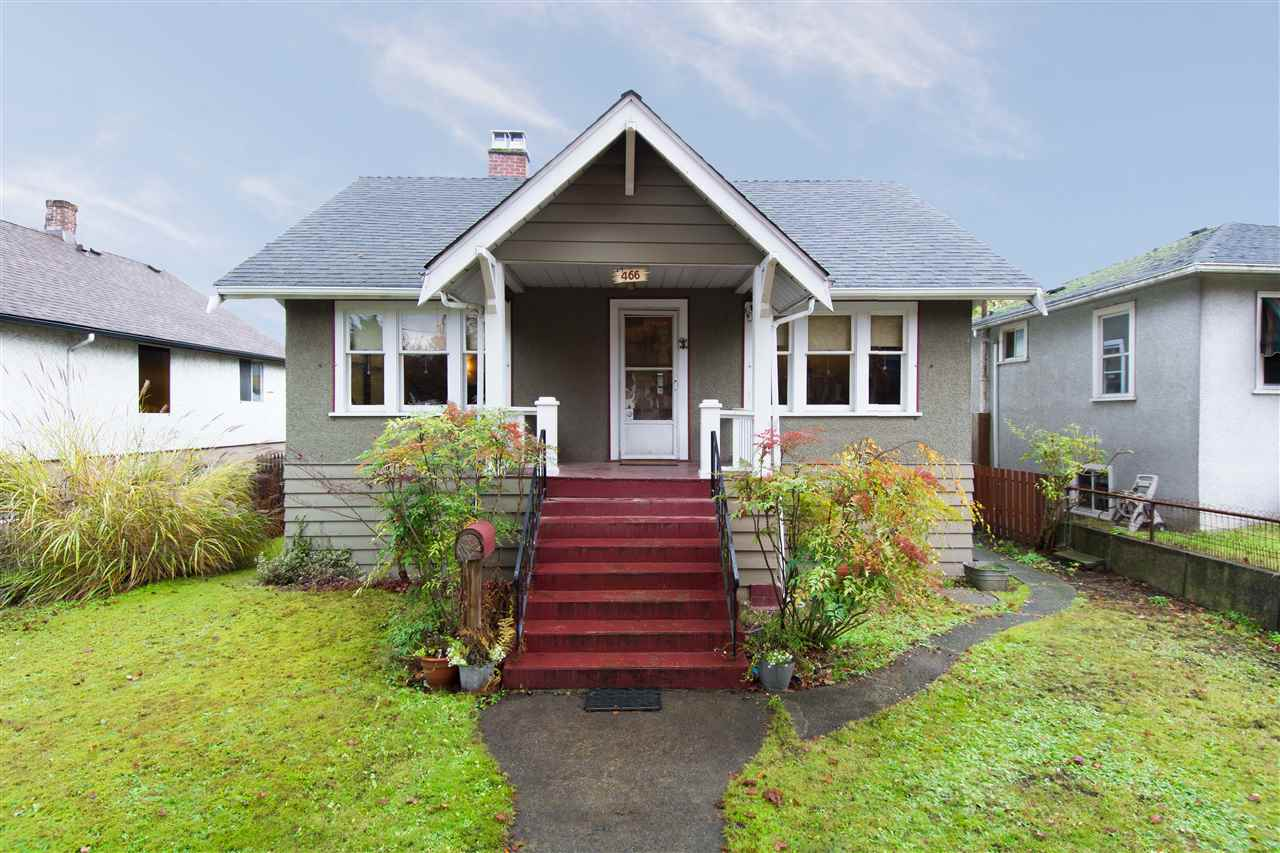 For Sale: 466 Kelly Street, New Westminster, BC | 2 Bed, 1 Bath House for $899,900. See 20 photos!