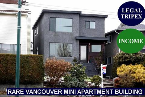 Townhouse for sale at 4673 Fraser St Vancouver British Columbia - MLS: R2349393