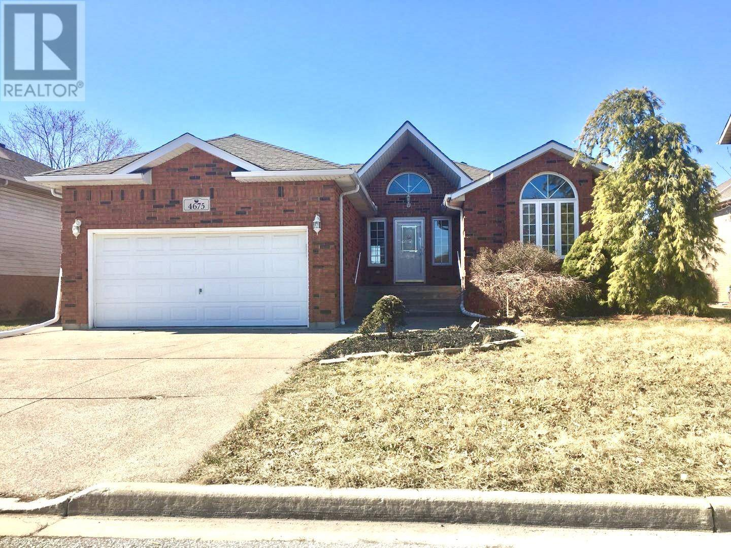 House for sale at 4675 Shadetree Cres  Windsor Ontario - MLS: 20003220
