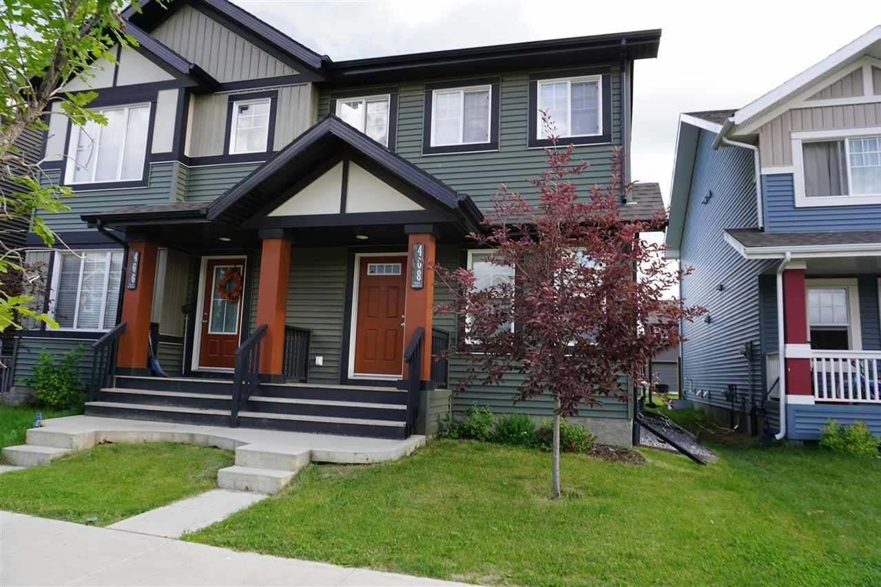Townhouse for sale at 468 Orchards Bv SW Edmonton Alberta - MLS: E4205313
