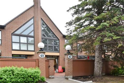 Townhouse for sale at 100 Hillside Dr Unit 47 Ottawa Ontario - MLS: 1153815