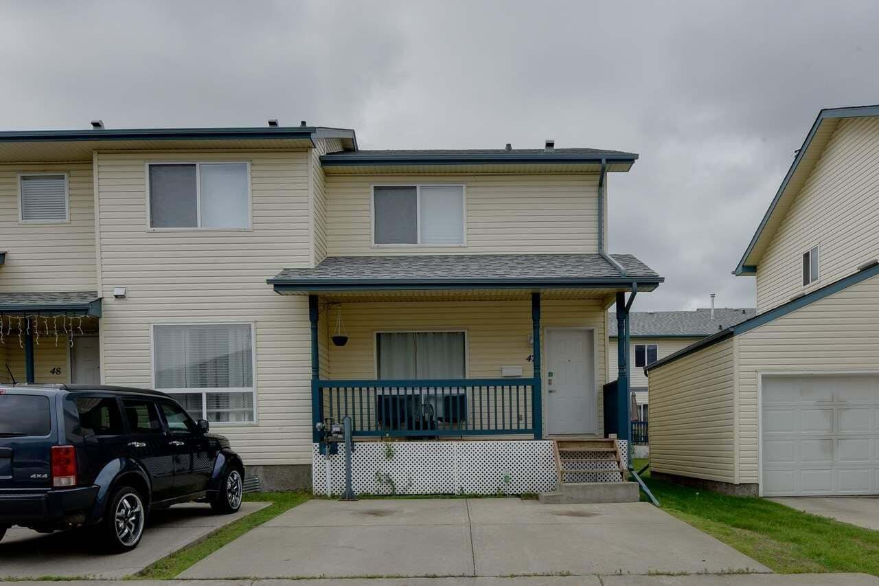 Townhouse for sale at 10909 106 St NW Unit 47 Edmonton Alberta - MLS: E4204204