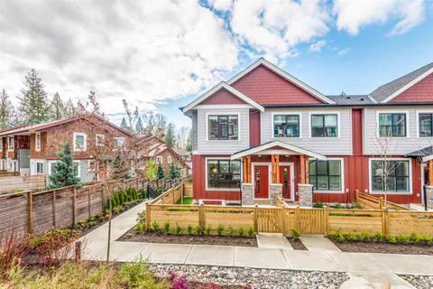 Townhouse for sale at 13260 236 St Unit 47 Maple Ridge British Columbia - MLS: R2355278