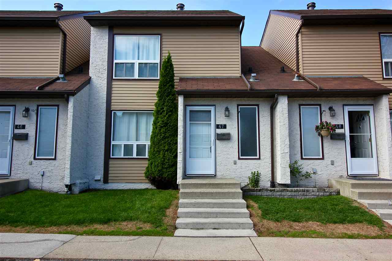 For Sale: 47 1651 46 Street, Edmonton, AB | 3 Bed, 1 Bath Condo for $214,500. See 28 photos!