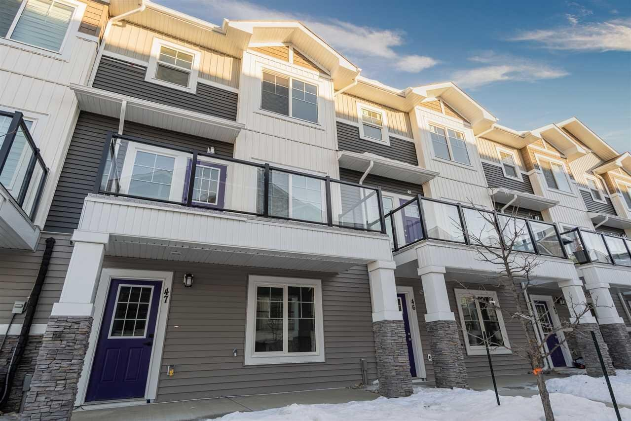 Townhouse for sale at 230 Edgemont Rd NW Unit 47 Edmonton Alberta - MLS: E4222683