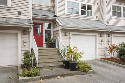 Townhouse for sale at 2450 Hawthorne Ave Unit 47 Port Coquitlam British Columbia - MLS: R2419352