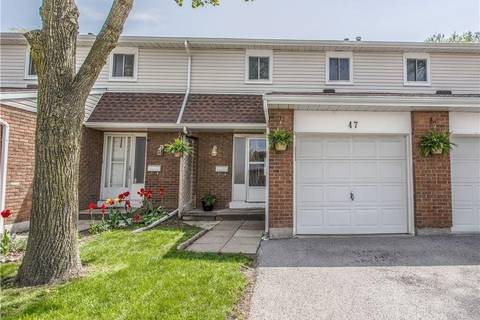 Townhouse for sale at 286 Cushman Road Rd East Unit 47 St. Catharines Ontario - MLS: 30730406