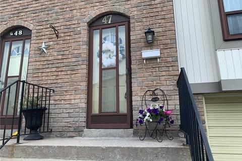 Condo for sale at 47 Mcmullen Cres Brampton Ontario - MLS: W4509582