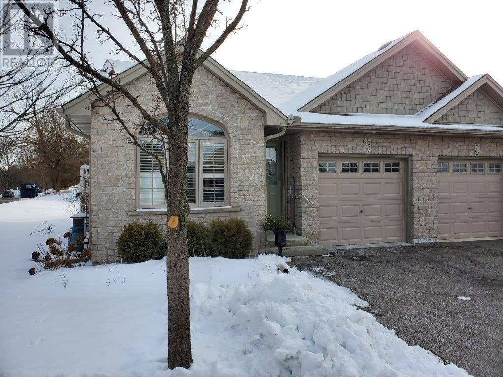 Townhouse for sale at 510 Queensway St West Unit 47 Simcoe Ontario - MLS: 30786823