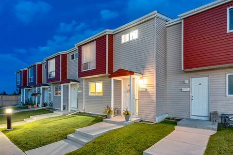 Townhouse for sale at 5425 Pensacola Cres Southeast Unit 47 Calgary Alberta - MLS: C4261781
