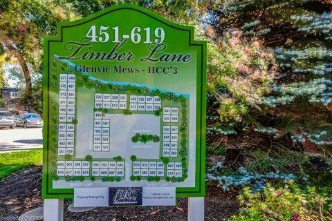 Townhouse for sale at 601 Timber Ln Unit 47 Burlington Ontario - MLS: 40034466