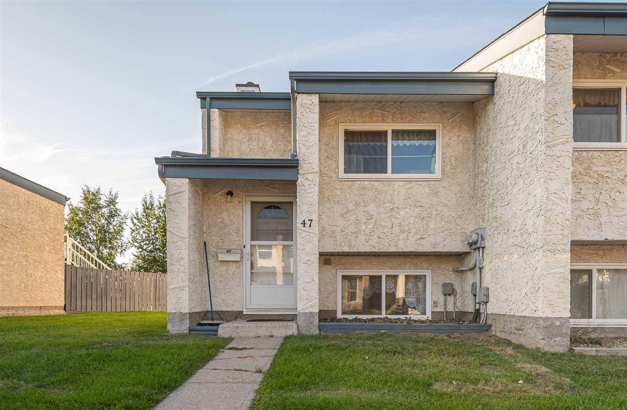 Townhouse for sale at 6220 172 St Nw Unit 47 Edmonton Alberta - MLS: E4172592