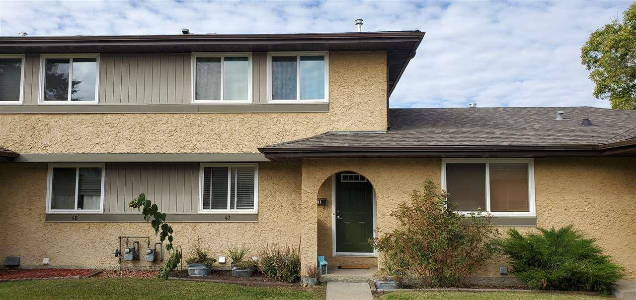 Townhouse for sale at 8930 99 Ave Unit 47 Fort Saskatchewan Alberta - MLS: E4176420