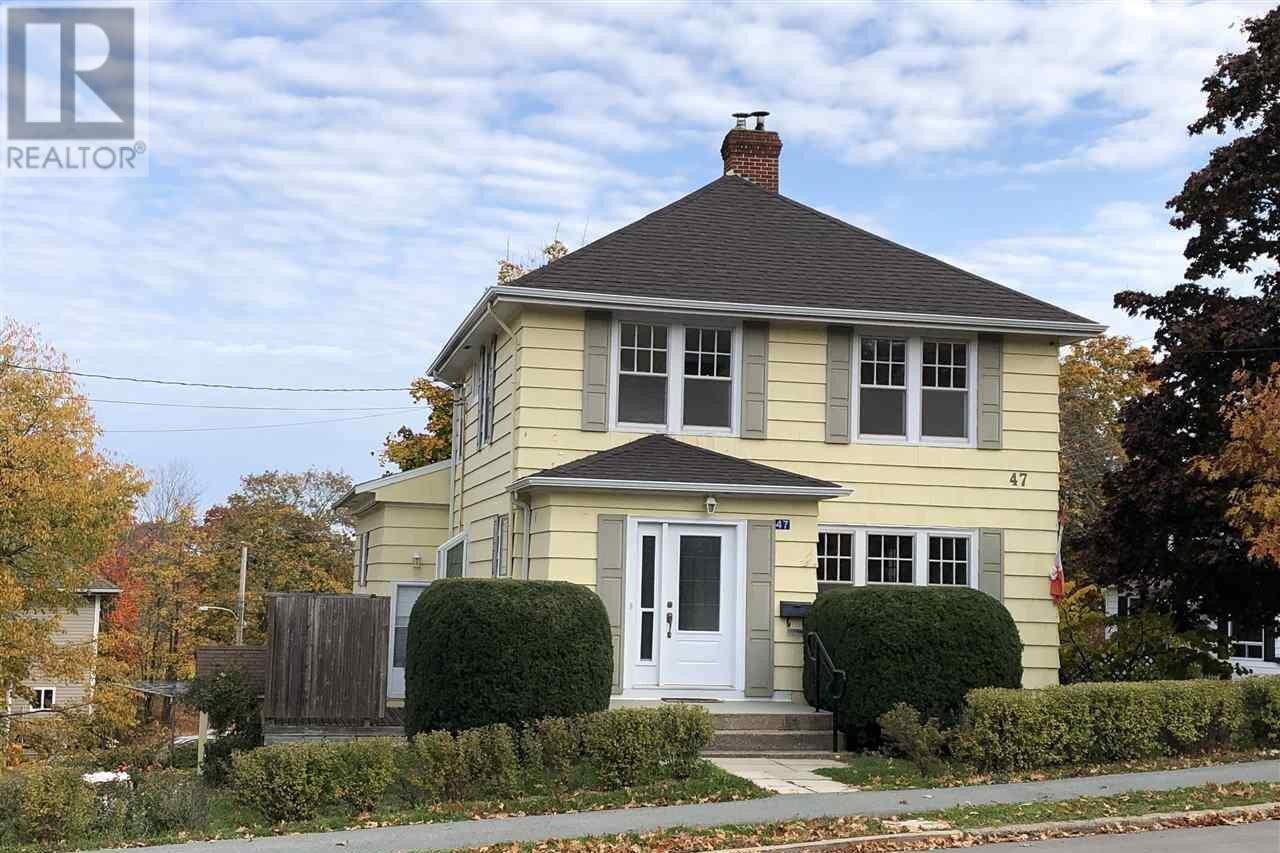 House for sale at 47 Academy St Kentville Nova Scotia - MLS: 202009391