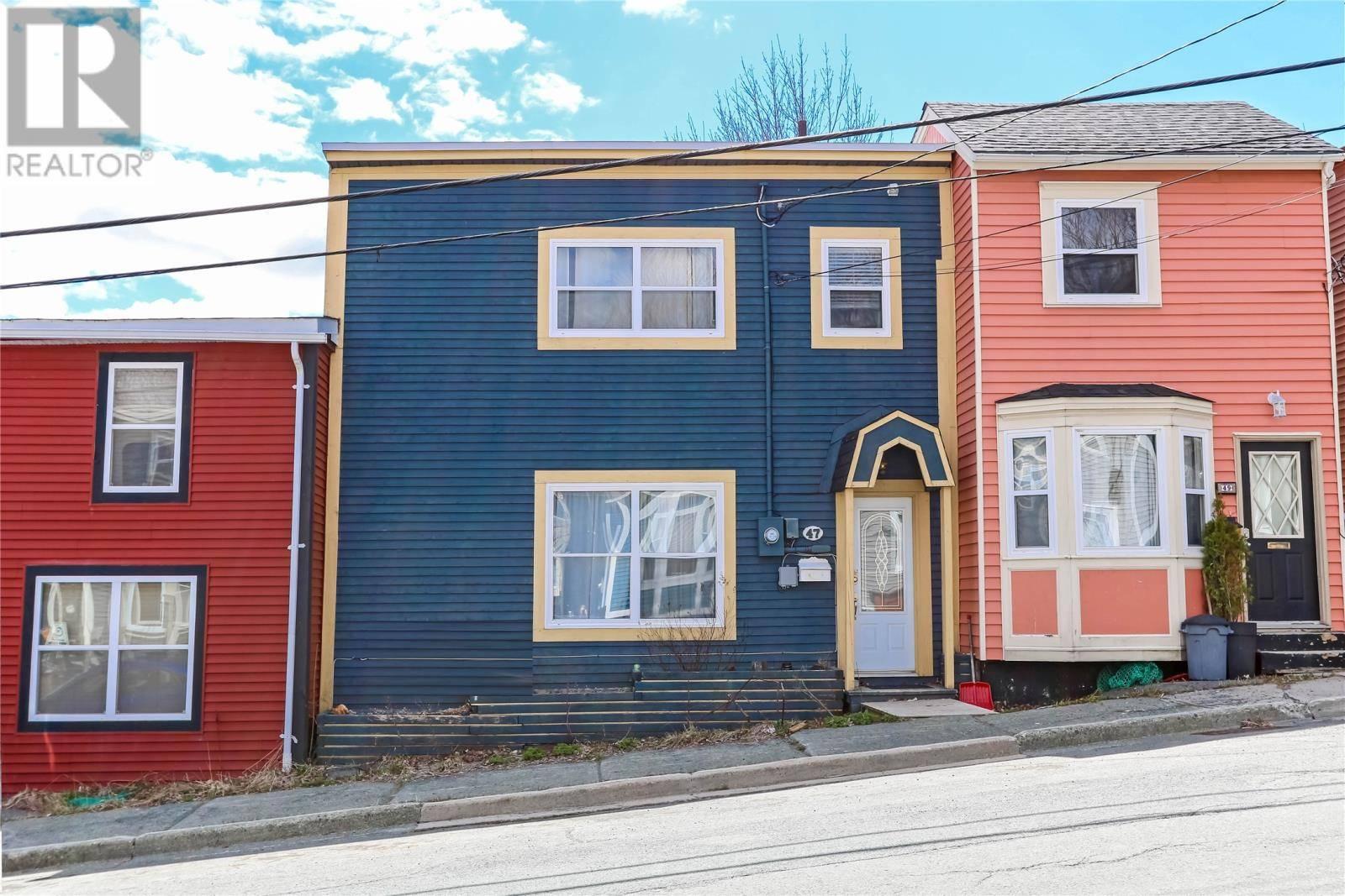 House for sale at 47 Alexander St St. John's Newfoundland - MLS: 1203030
