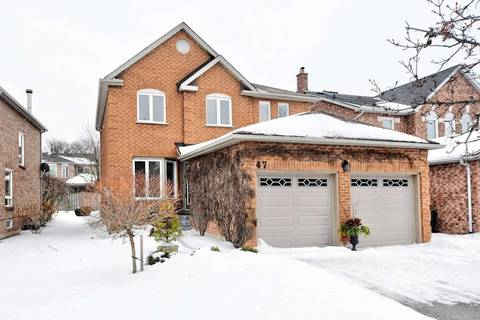House for sale at 47 Beechbrooke Wy Aurora Ontario - MLS: N4697243