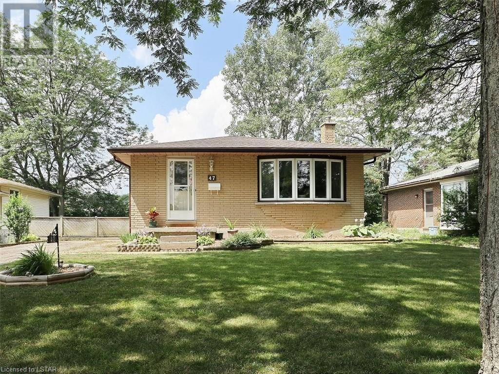 House for sale at 47 Breckenridge Cres London Ontario - MLS: 215152