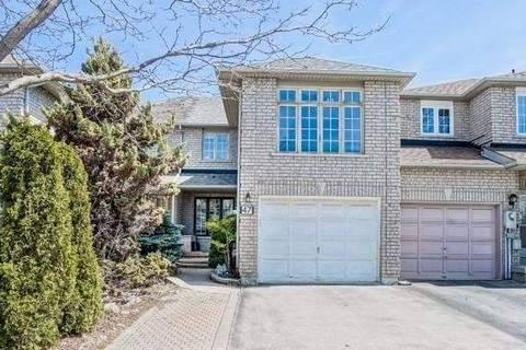Townhouse for sale at 47 Breezeway Cres Richmond Hill Ontario - MLS: N4420861