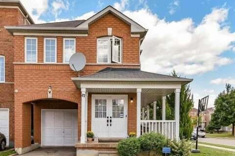 House for sale at 47 Caranci Cres Brampton Ontario - MLS: W4919789