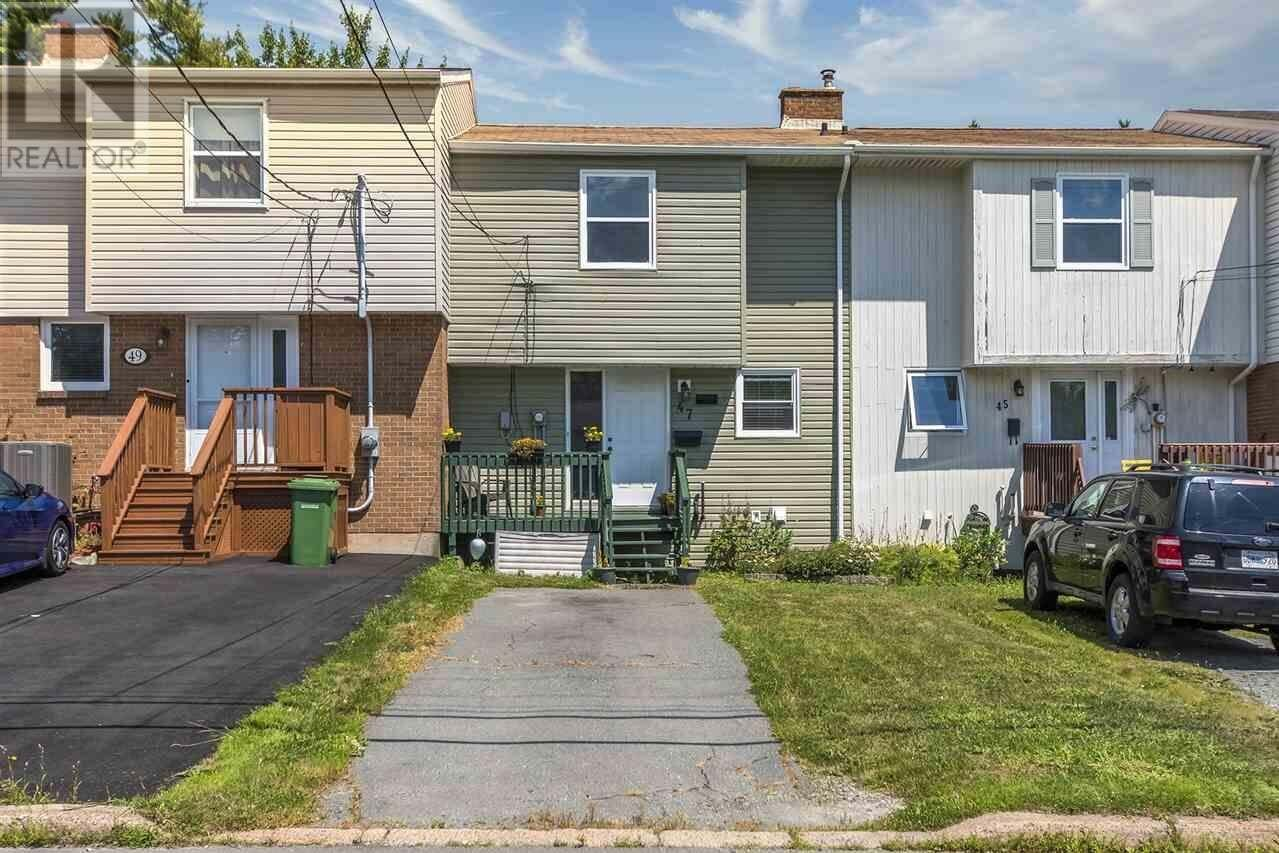 Townhouse for sale at 47 Circassion Dr Forest Hill Nova Scotia - MLS: 202014945