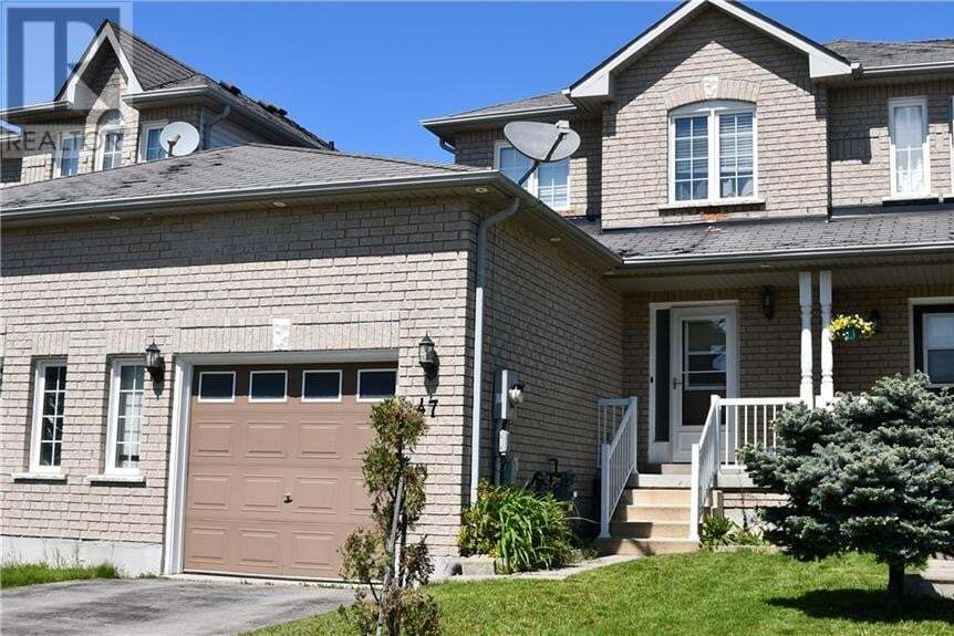 Townhouse for sale at 47 Coleman Dr Barrie Ontario - MLS: 30810987