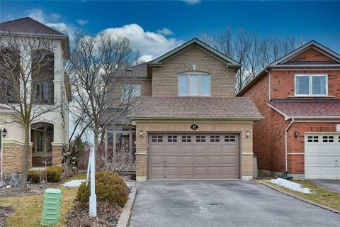 House for sale at 47 Cooper Creek Ct Vaughan Ontario - MLS: N4717991