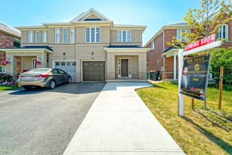 Townhouse for sale at 47 Crannyfield Dr Brampton Ontario - MLS: W4849104